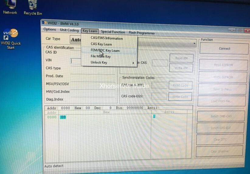 VVDI2 4 3 0 do BMW FEM coding/programming