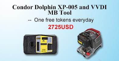 xhorse dolphin xp005 plus vvdi mb tool